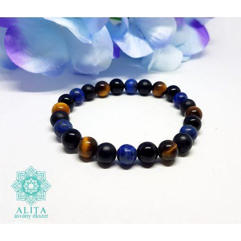 Lapis-lazuli-tigrisszem-onix-asvany-karkoto